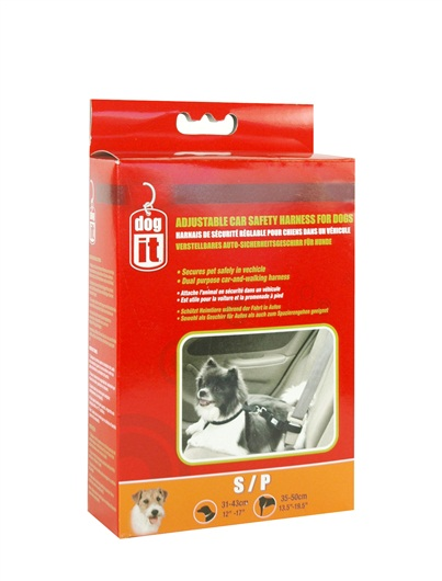 Dogit Adjustable Nylon Dog Car Safety Harness