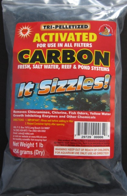 Activated Tri Base Pelletized Carbon