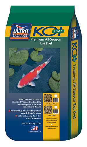 Ultra Balance Growth Premium Koi Diet Medium Pellet