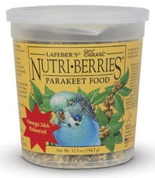 Classic Nutri-Berries for Parakeets