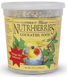 Classic Nutri-Berries for Cockatiels