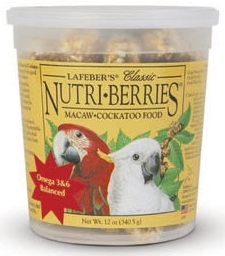 Classic Nutri-Berries for Macaw / Cockatoo