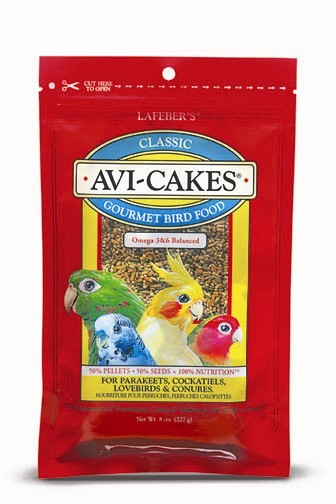 Avi-Cakes for Cockatiels / Parakeets / Lovebirds and Conures