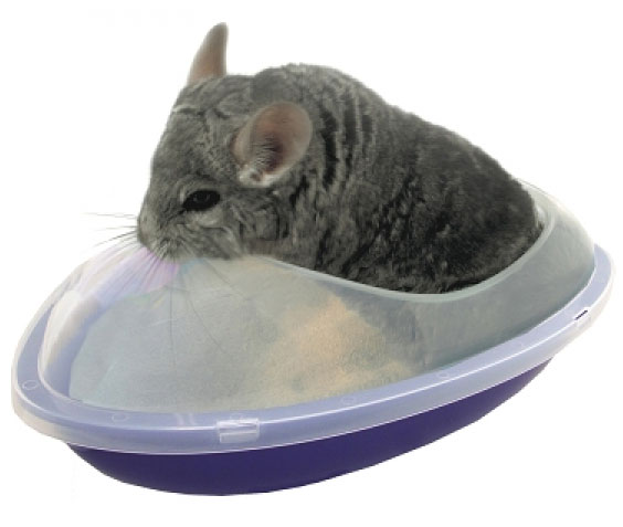 Chinchilla Dry Bath by Lixit
