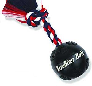 TireBiter Ball with Rope