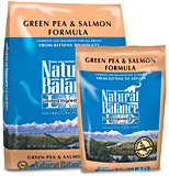 Green Pea & Salmon Formula Cat
