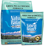 Green Pea & Chicken Formula Cat