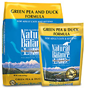 Green Pea & Duck Formula Cat
