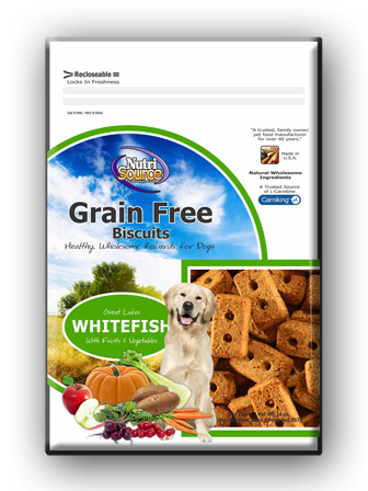Grain Free Whitefish Biscuits