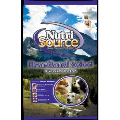 Heartland Select Grain Free Bison Dog Food