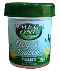 Omega One Frog and Tadpole Pellet 1.2oz