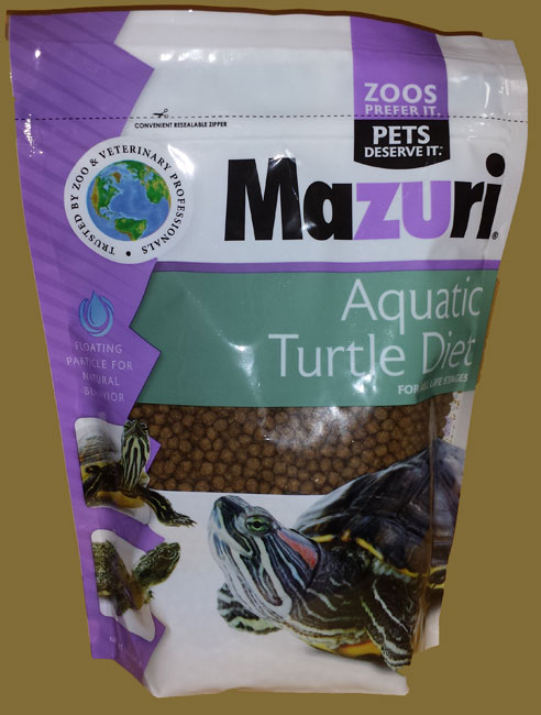 Mazuri Water Turtle Diet