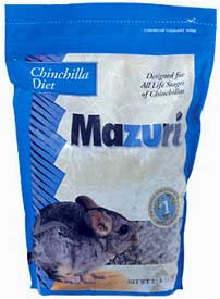 Chinchilla Diet by Mazuri