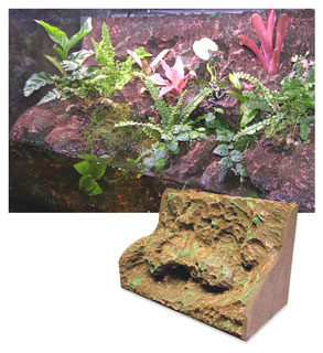 T-Rex Vivarium Foam Systems Rainforest Rapids