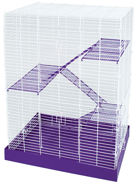 Chew Proof 4 Story Hamster Cage by Ware