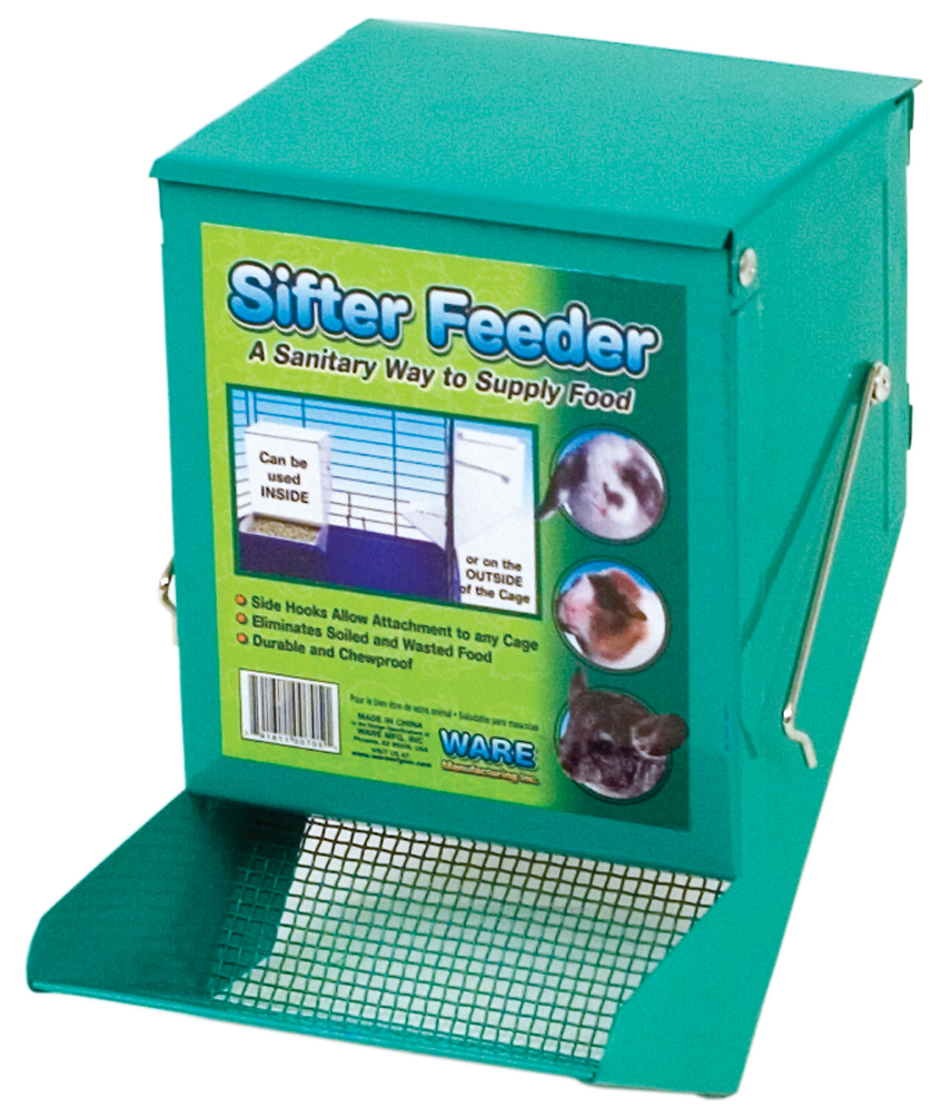 Sifter Feeder with Lid