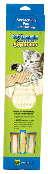 Cattachment Reversible Scratcher by Ware Mfg. - Click Image to Close