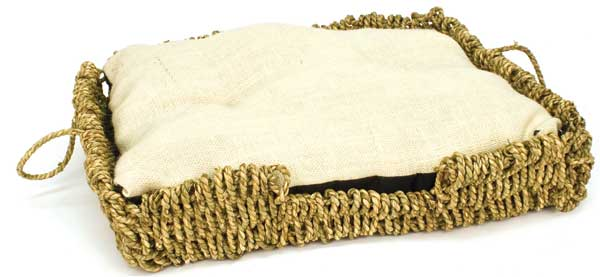 Seagrass-N-Burlap Bed