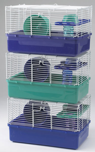 Home Sweet Home Hamster Cage 1 Story 3 Pack