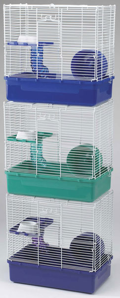 Home Sweet Home Hamster Cage 2 Story 3 Pack