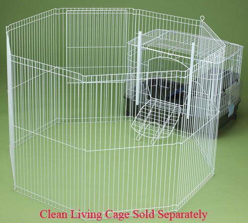 Clean Living Playpen by Ware