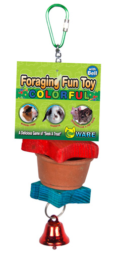 Foraging Fun Toy Colorful with Bell