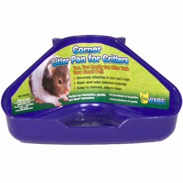 Corner Litter Pan for Little Critters