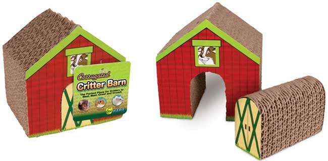 Corrugated Critter Barn