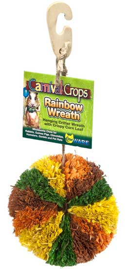 Carnival Crops Rainbow Wreath