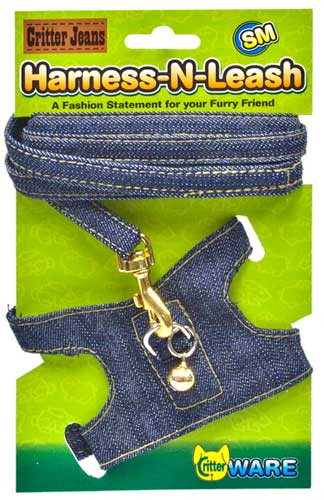 Critter Jeans Harness-N-Leash by Ware Mfg.