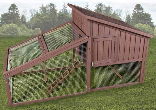 Premium Plus Hen House with Yard by Ware Mfg.