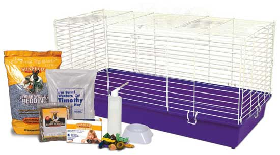 "Home Sweet Home Sunseed 40"" Rabbit Starter Kit by Ware Mfg"