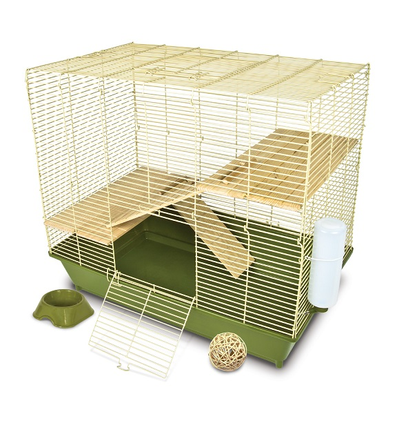 Naturals Three Level Chinchilla Cage 28""