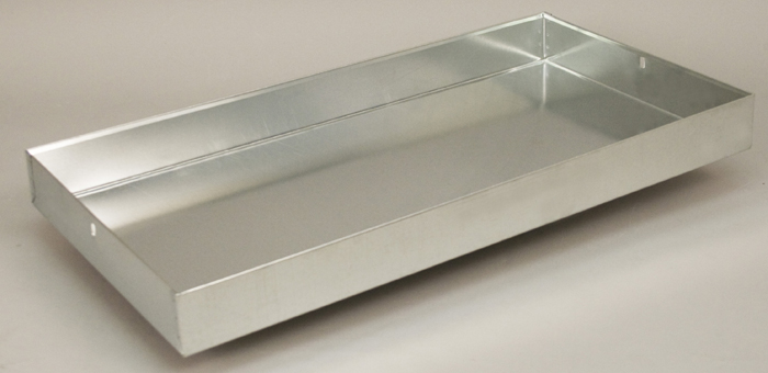 Replacement Drop Pans (Galvanized or Powder Coated)