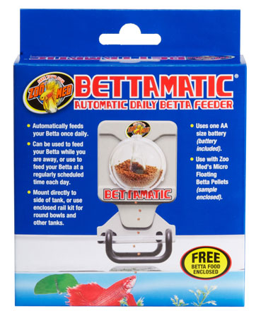 Betamatic Automatic Feeder by Zoo Med