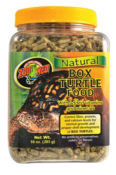 Zoo Med Box Turtle & Tortoise Food