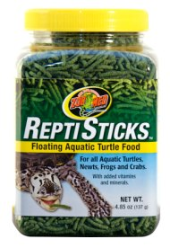 Zoomed Floating ReptiSticks