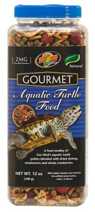 Gourmet Aquatic Turtle Food by Zoo Med