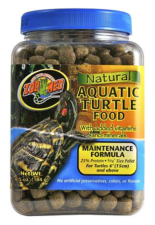 Zoo Med Natural Aquatic Turtle Food Maintenance Formula