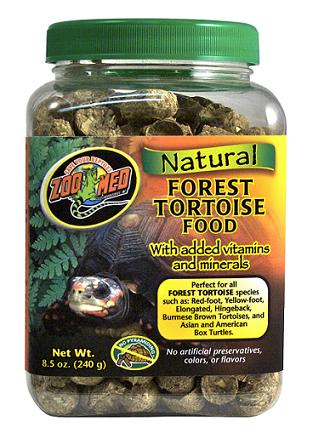 Zoo Med Natural Forest Tortoise Food