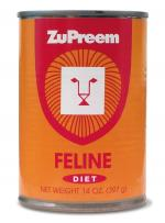 ZuPreem Feline Diet Can 14 oz. **extra shipping**