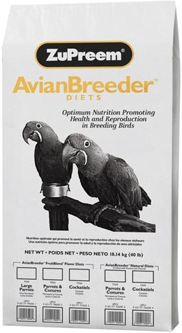 ZuPreem AvianBreeder FruitBlend - Cockatiel - Click Image to Close