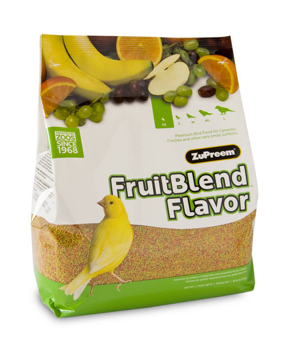ZuPreem FruitBlend Extra Small (Canaries, Finches, etc)